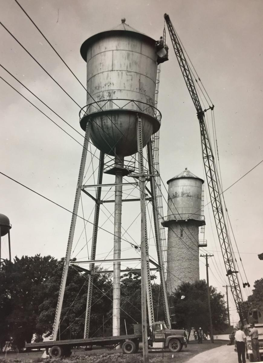 Water Tower Construction